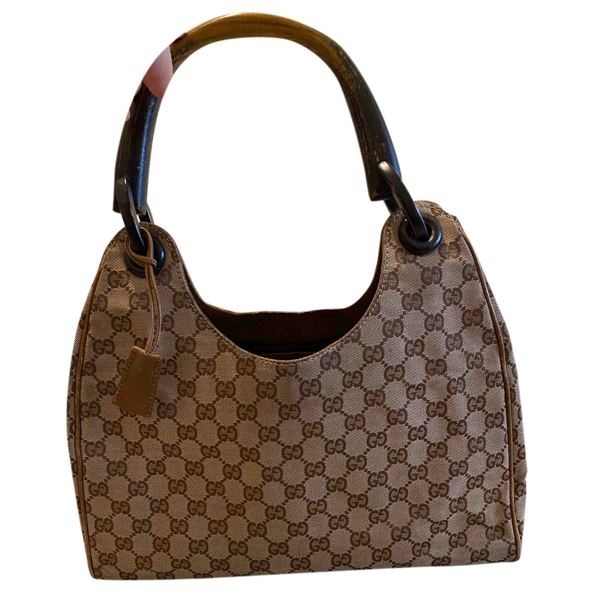 Gucci N Beige Cotton handbag for Women N
