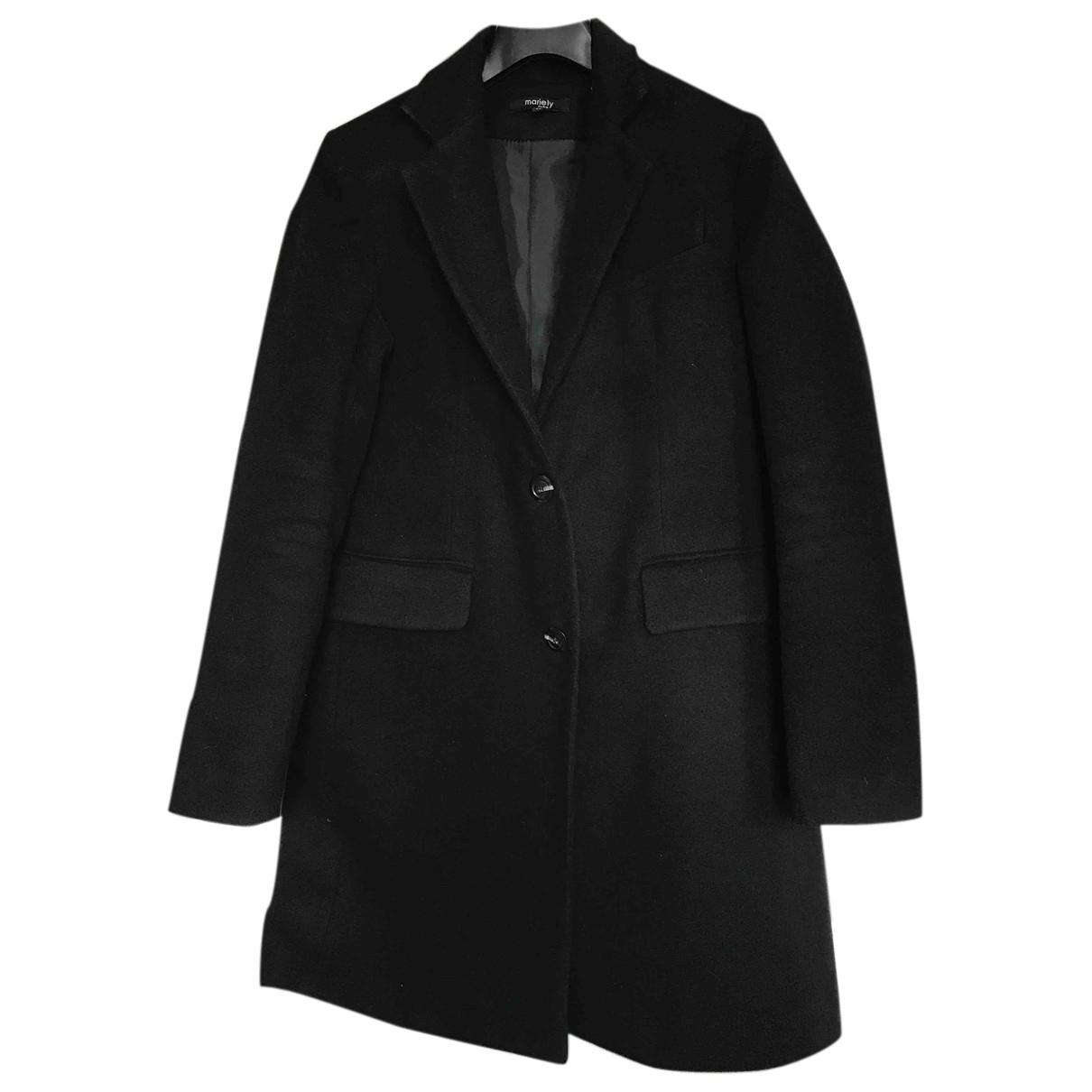 Autre Marque - Manteau   pour femme en laine - noir