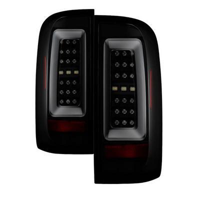 Spyder Auto Group LED Tail Lights (Black/Smoke) - 5085252