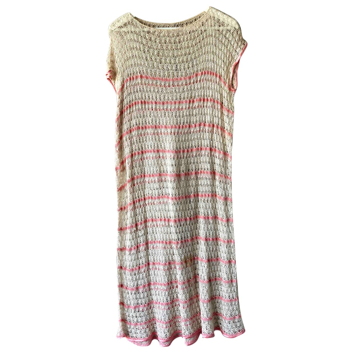 Non Signé / Unsigned \N Beige Cotton dress for Women One Size IT