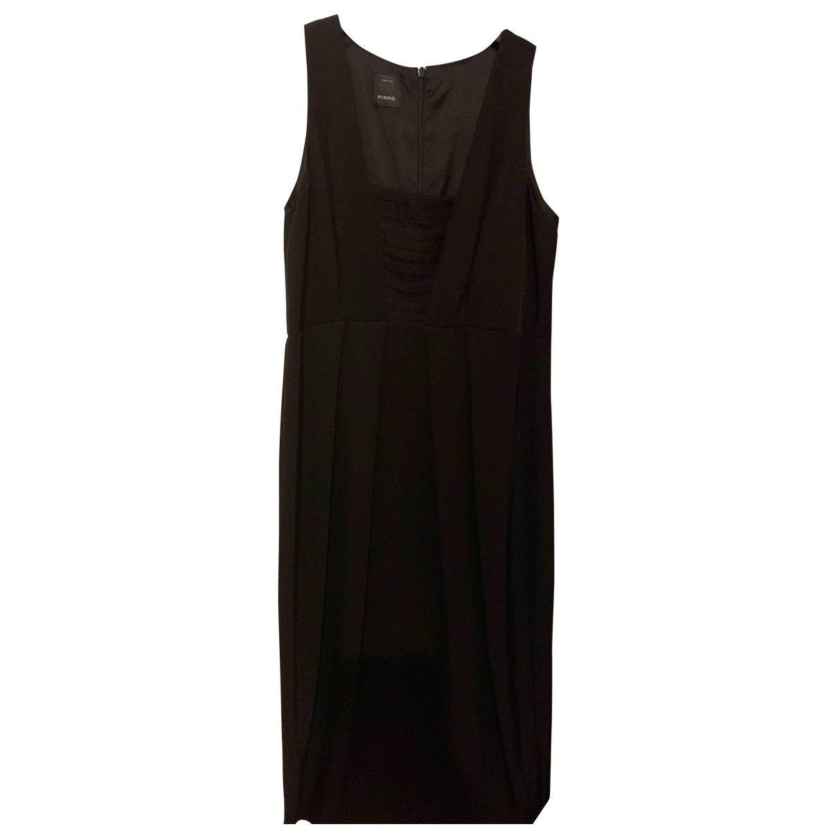 Pinko \N Black dress for Women 38 IT