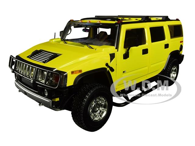 2003 Hummer H2 Yellow
