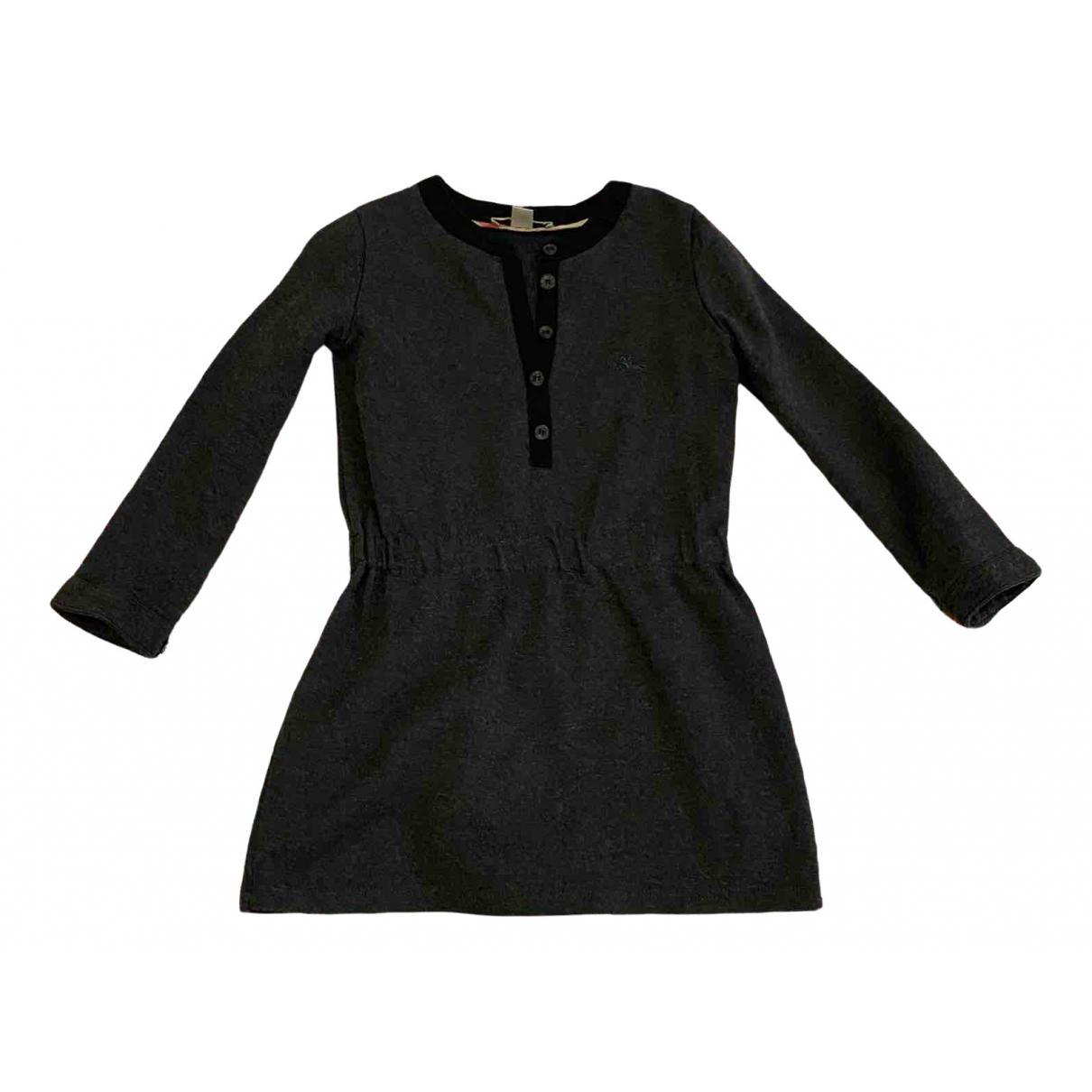 Burberry \N Kleid in  Schwarz Baumwolle