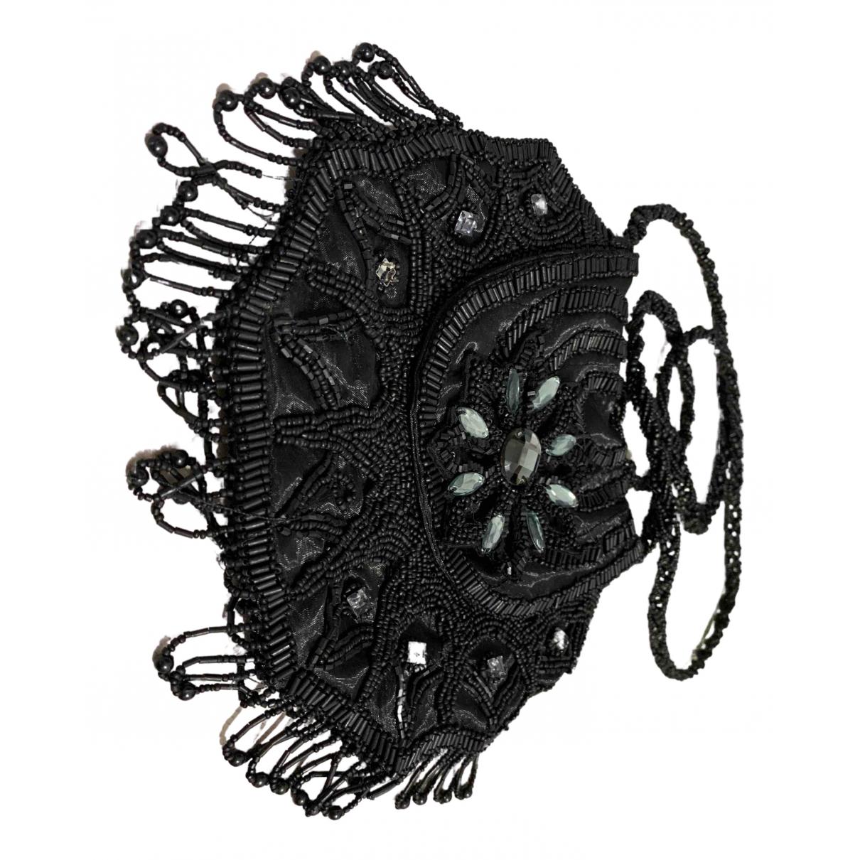 Maliparmi \N Clutch in  Schwarz Mit Pailletten