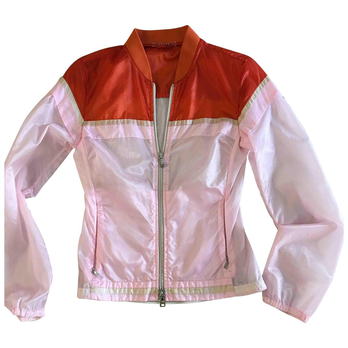 Prada - Veste   pour femme - rose