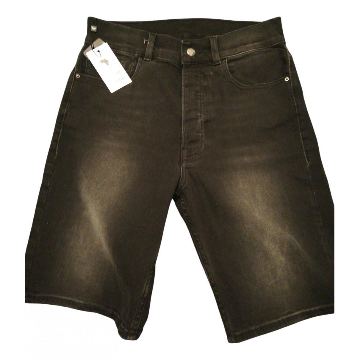 Emporio Armani \N Shorts in  Grau Baumwolle - Elasthan