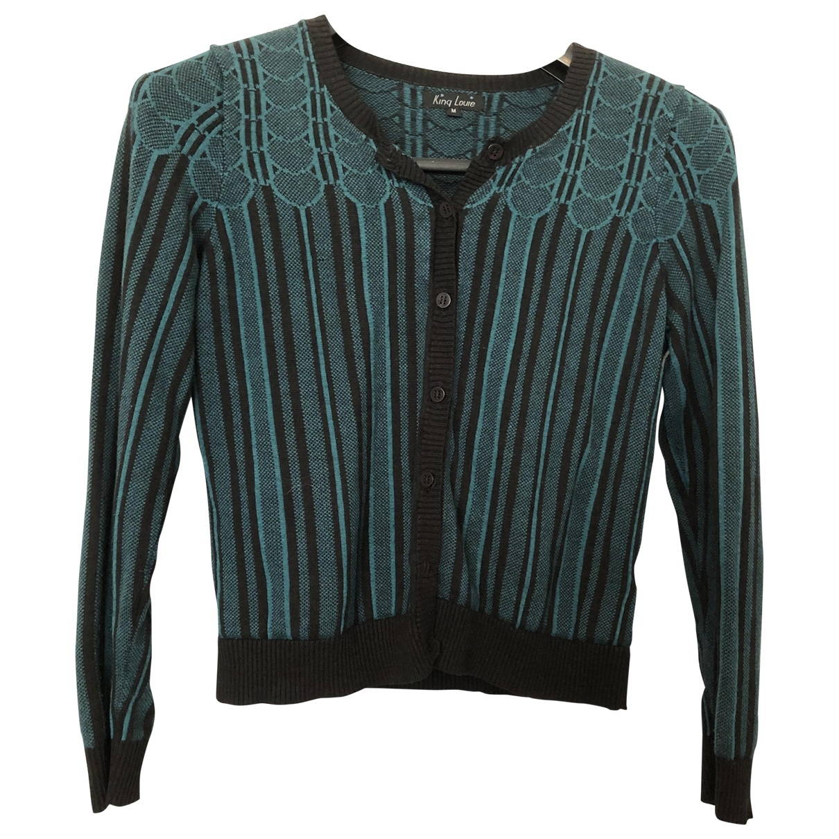 Non Signé / Unsigned \N Green Cotton Knitwear for Women M International