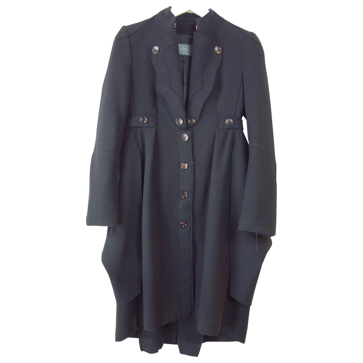 Mcq - Manteau   pour femme en laine - noir