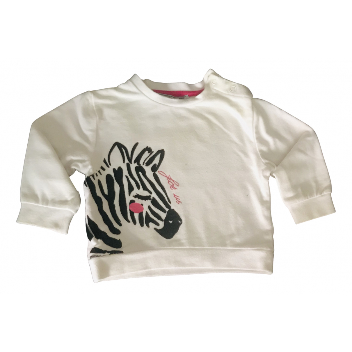Cesare Paciotti N White Cotton Knitwear for Kids 6 months - up to 67cm FR