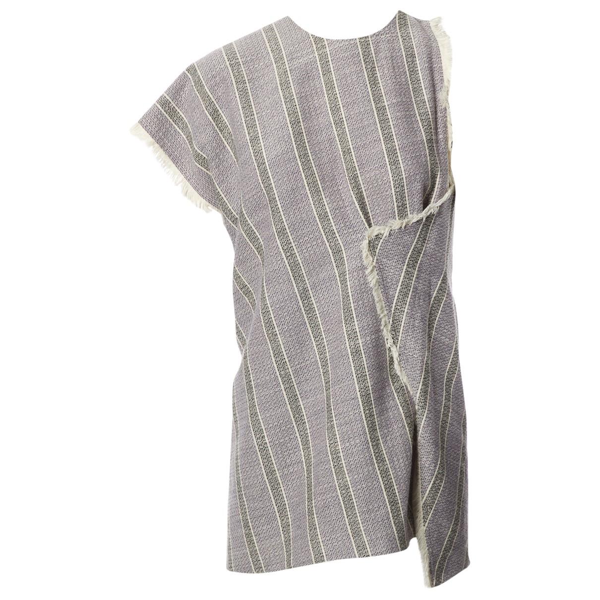 Acne Studios \N Grey Cotton  top for Women 36 FR