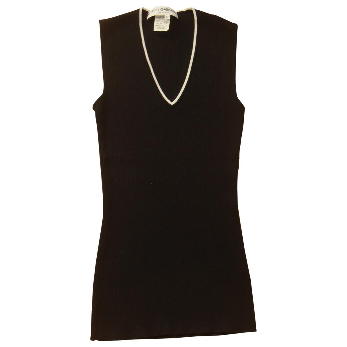 Dolce & Gabbana - Pull   pour femme - noir