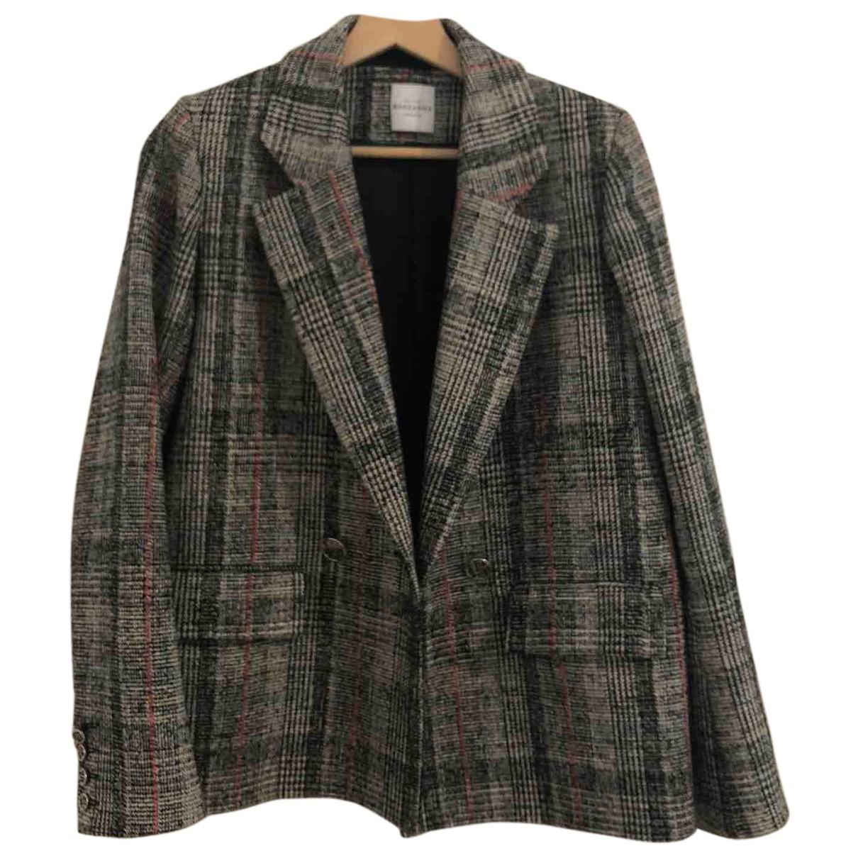 Roseanna - Veste   pour femme en coton - gris