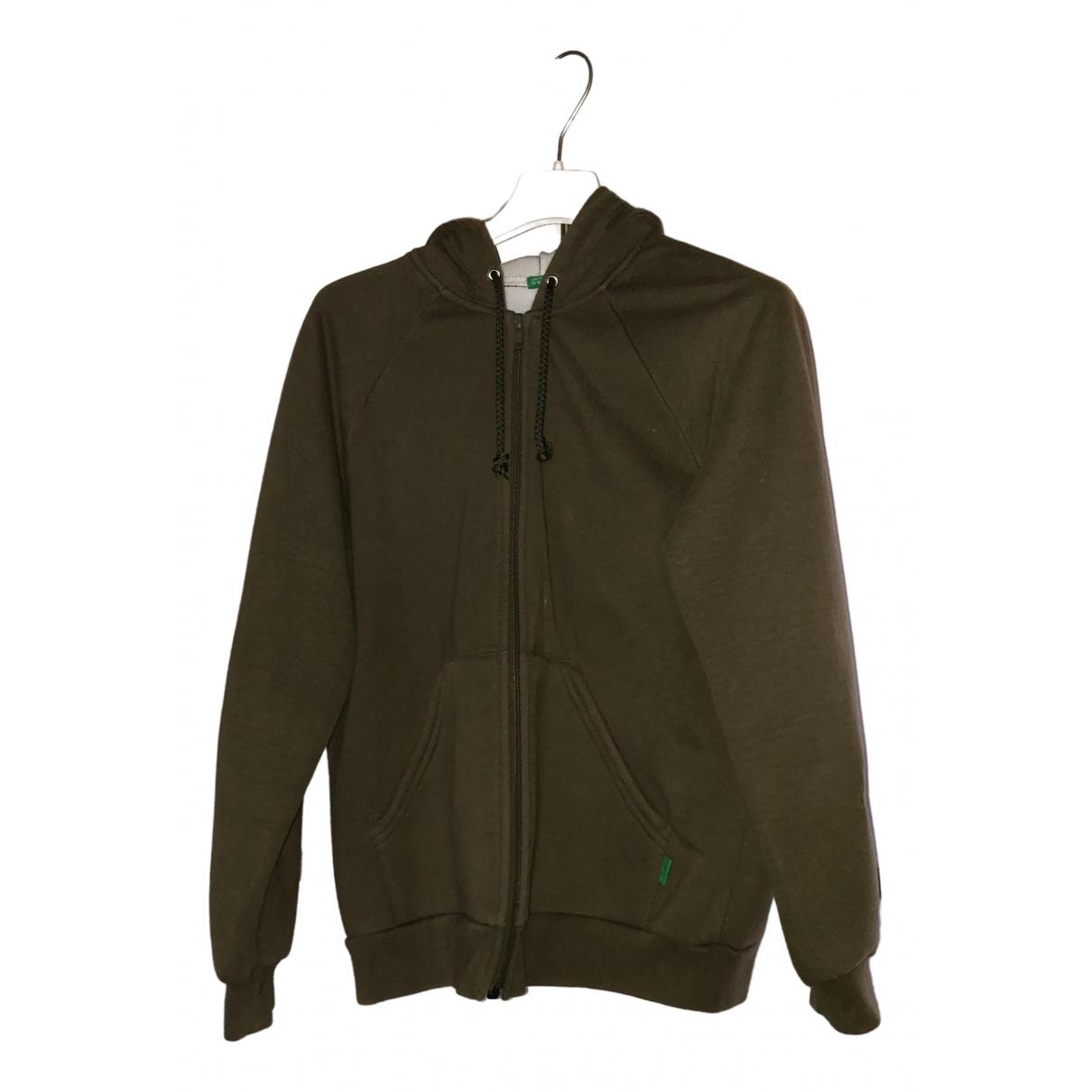 Benetton N Green Cotton Knitwear for Women L International