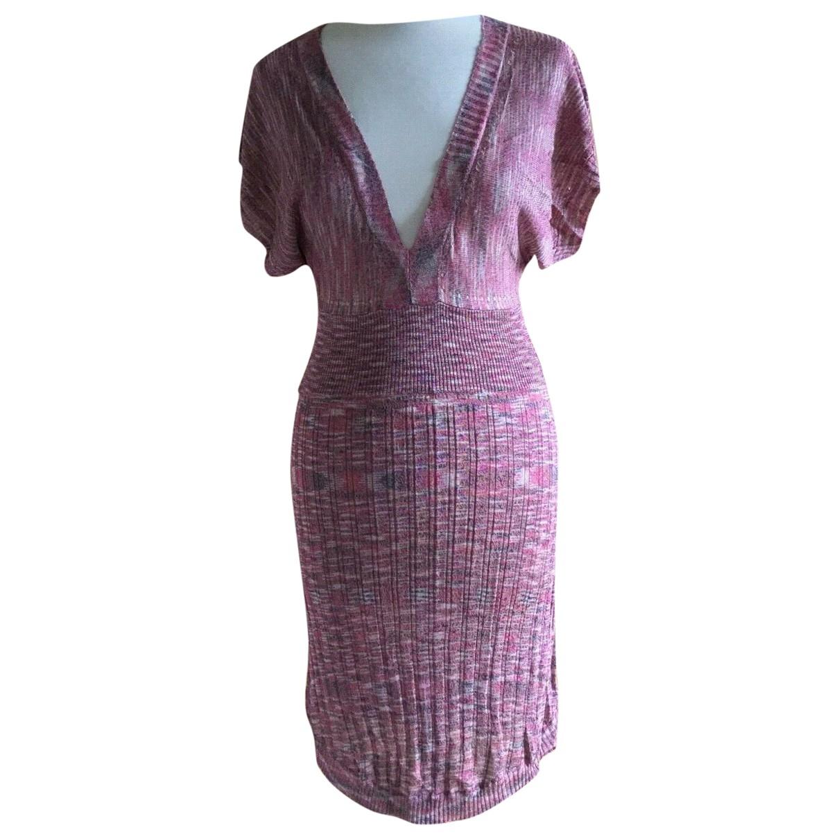 Zadig & Voltaire \N Kleid in  Rosa Viskose