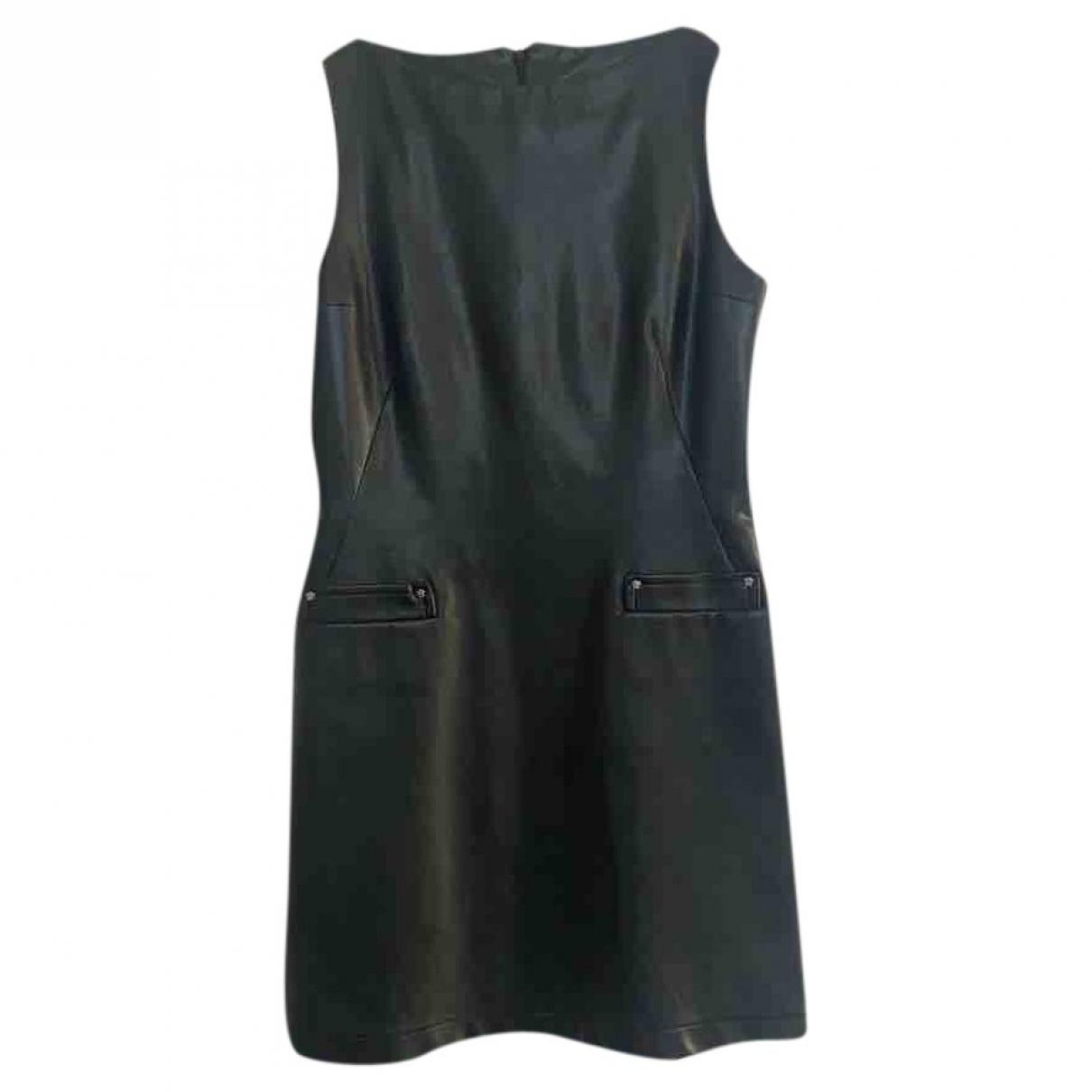 Mini vestido de Cuero Versace
