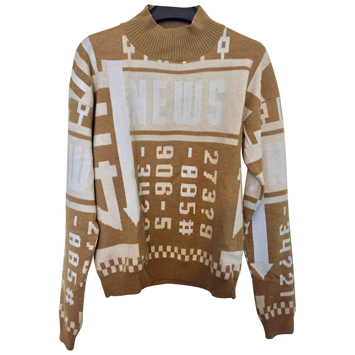 J.w. Anderson \N Pullover.Westen.Sweatshirts  in  Beige Wolle