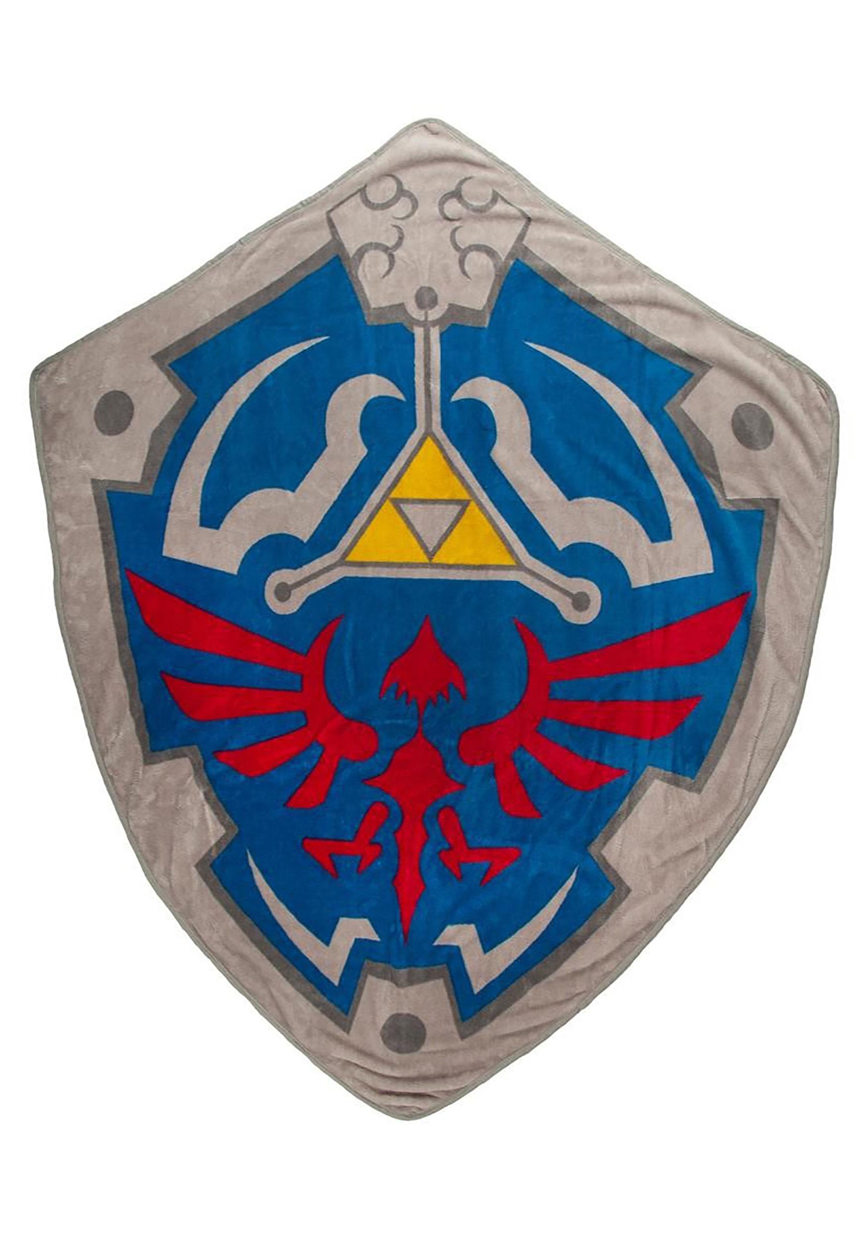 The Zelda Fleece Shield Throw