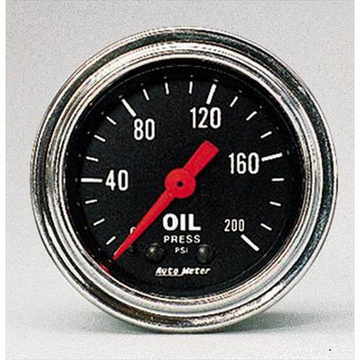 Auto Meter Traditional Chrome Mechanical Oil Pressure Gauge - 2422