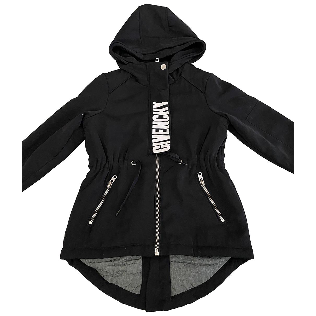 Givenchy \N Jacke, Maentel in  Schwarz Polyester