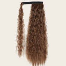 Long Curly Velcro Hairpiece