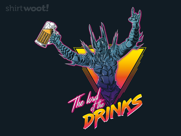 The Lord Of The Drinks T Shirt