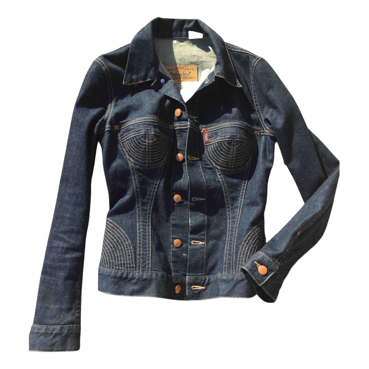 Levis Vintage Clothing \N Jacke in  Blau Baumwolle