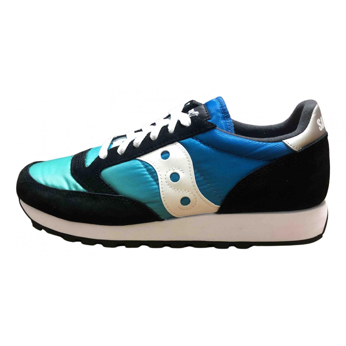 Saucony \N Sneakers in  Schwarz Veloursleder