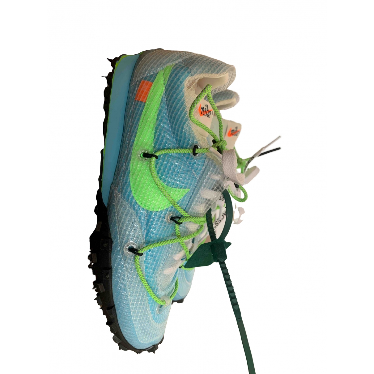 Nike X Off-white Waffle Racer Sneakers in  Tuerkis Leinen