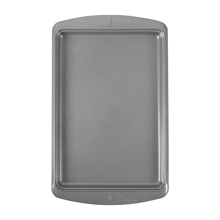 Wilton Ever-Glide Non-Stick Large Cookie Pan, One Size , Gray