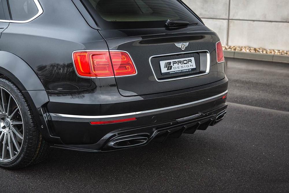 Prior Design 4260609890471 PDXR Rear Diffuser Bentley Bentayga 16-20