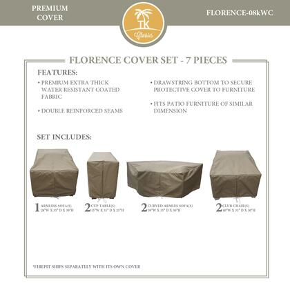 FLORENCE-08kWC Protective Cover Set  for FLORENCE-08k in