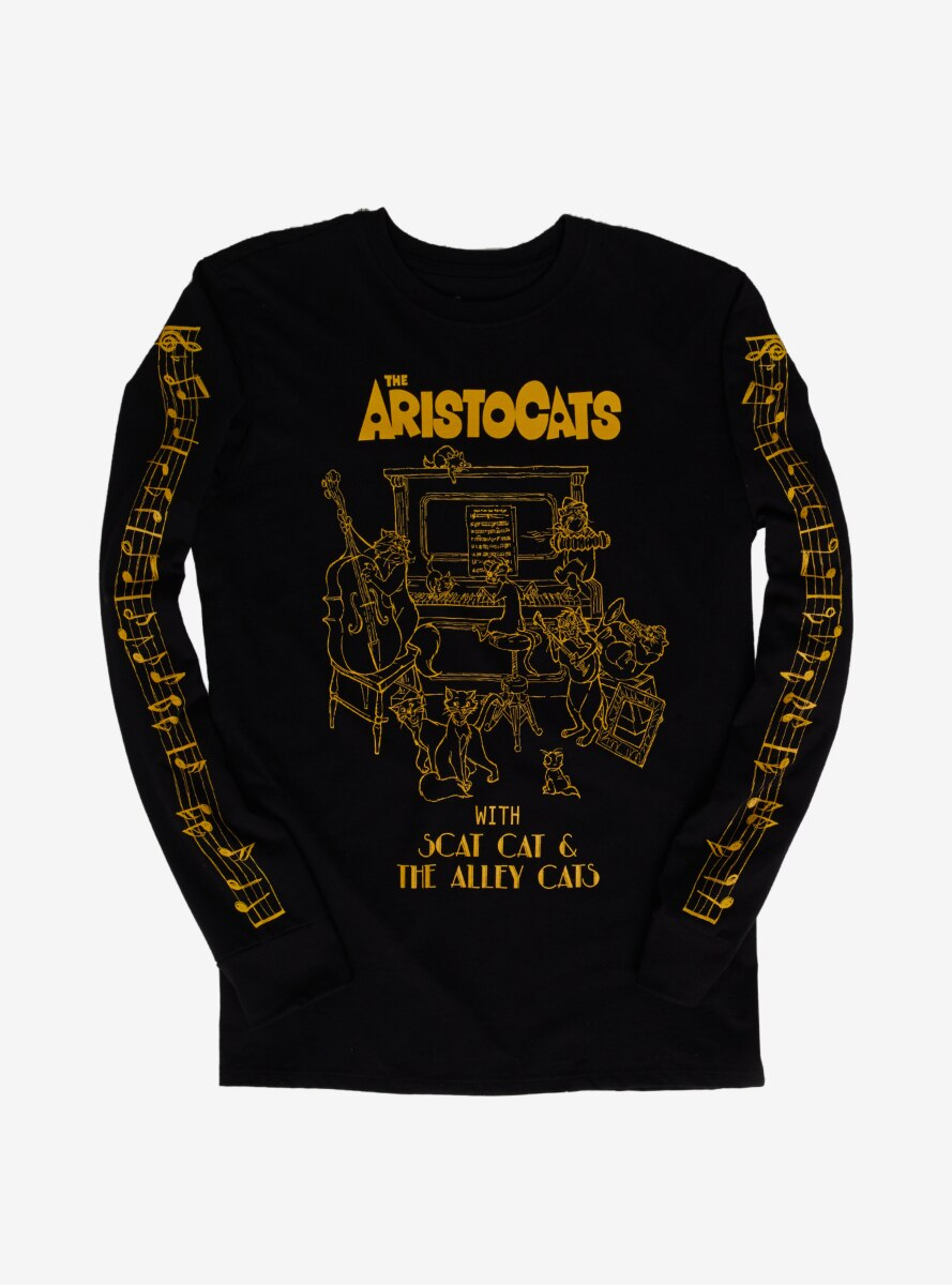 Disney The Aristocats Scat Cat & The Alley Cats Long Sleeve T-Shirt - BoxLunch Exclusive