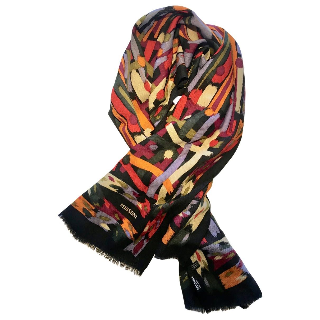 M Missoni - Foulard   pour femme en laine - multicolore