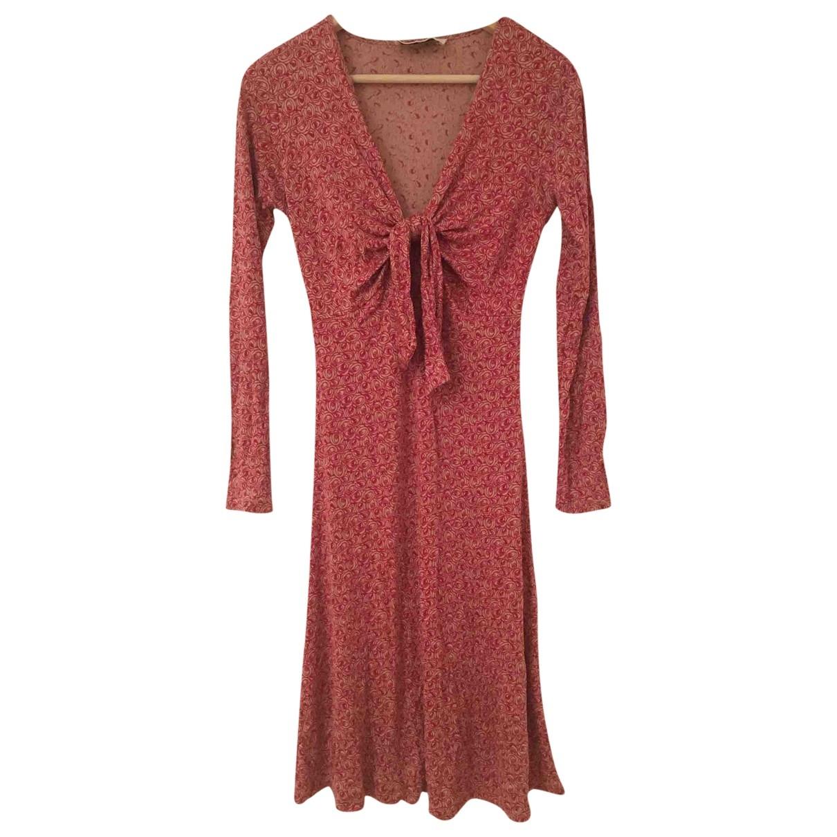 Allude - Robe   pour femme en soie - rouge