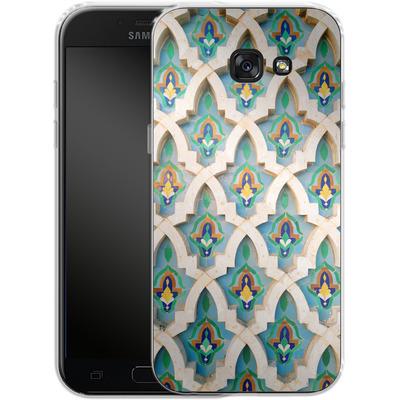 Samsung Galaxy A5 (2017) Silikon Handyhuelle - Moroccan Mosaic von Omid Scheybani