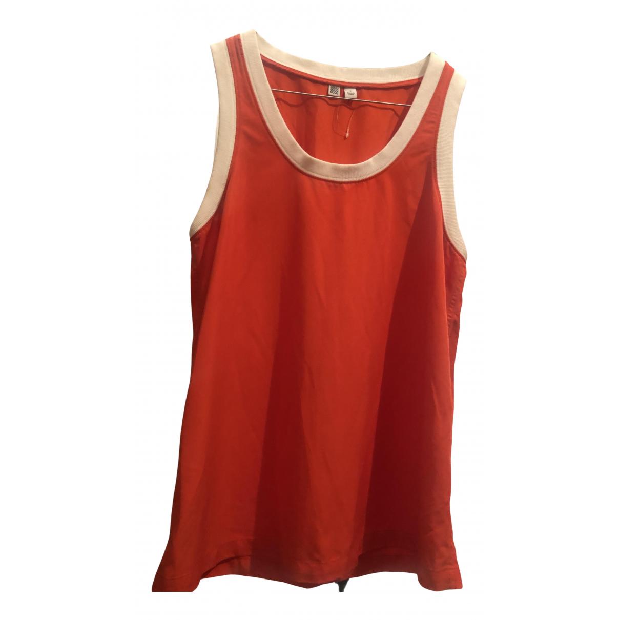 Uniqlo - Top   pour femme - rouge