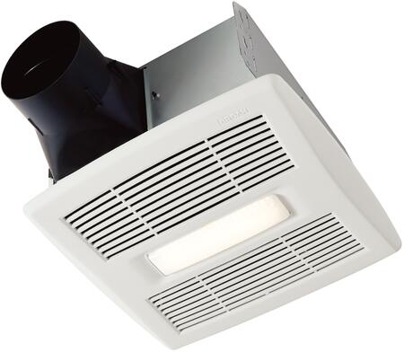 AE110L Bathroom Exhaust Fan with 110 CFM  LED Lighting and EzDuct Connector in