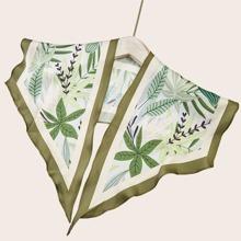 Leaf Pattern Scarf