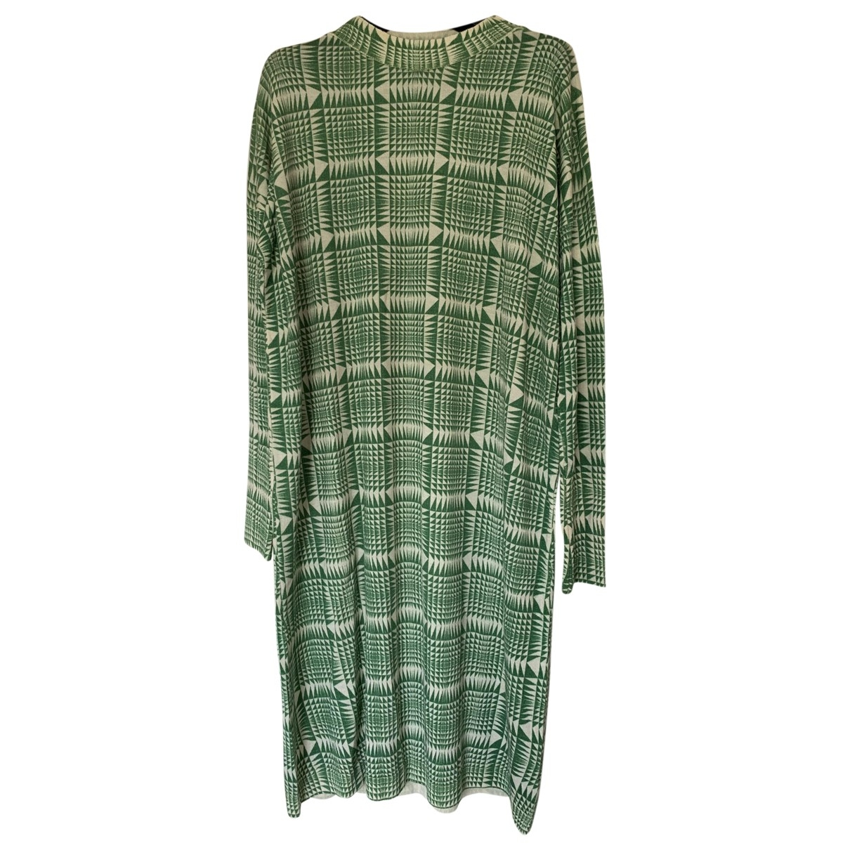 Non Signé / Unsigned \N Green Wool Knitwear for Women M International
