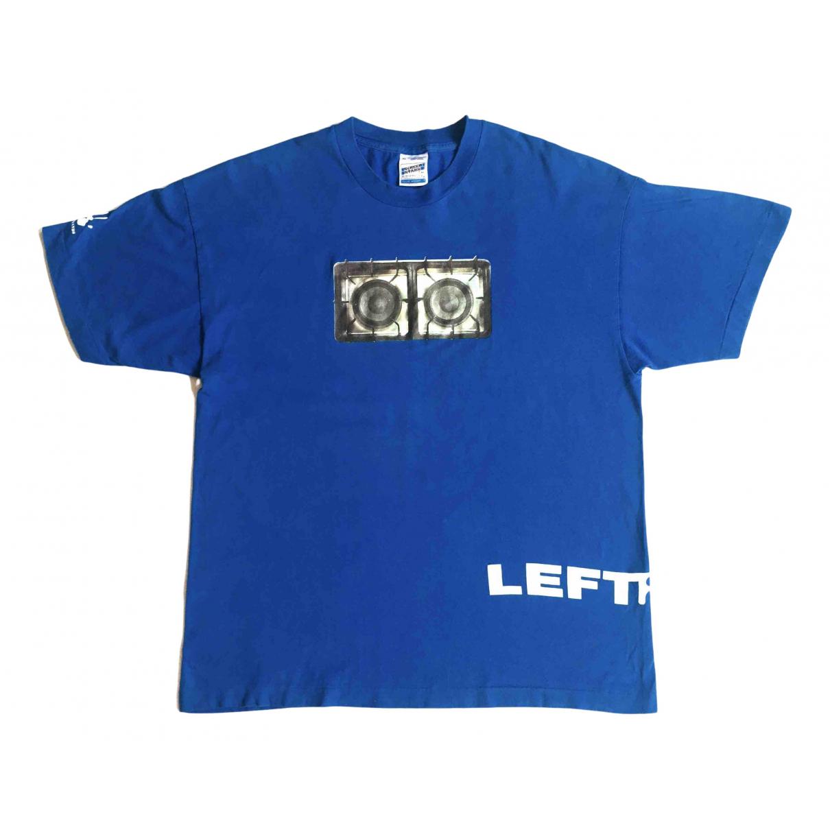 Non Signé / Unsigned N Blue Cotton T-shirts for Men XL International