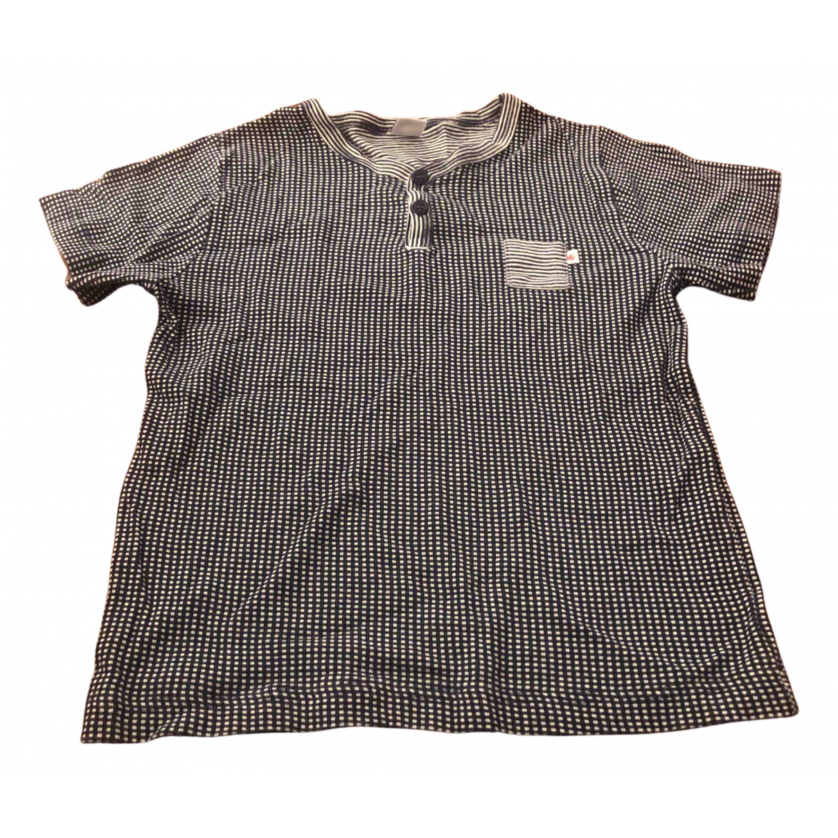 Petit Bateau N Blue Cotton  top for Kids 8 years - up to 128cm FR