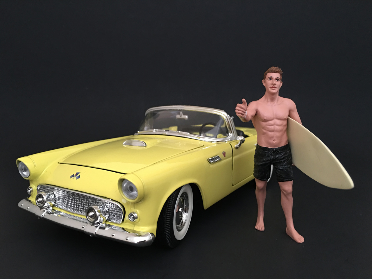 Surfer Jay Figurine for 1/24 Scale Models by American Diorama