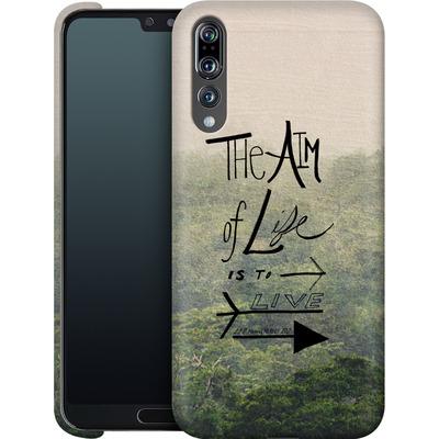 Huawei P20 Pro Smartphone Huelle - Aim of Life von Leah Flores