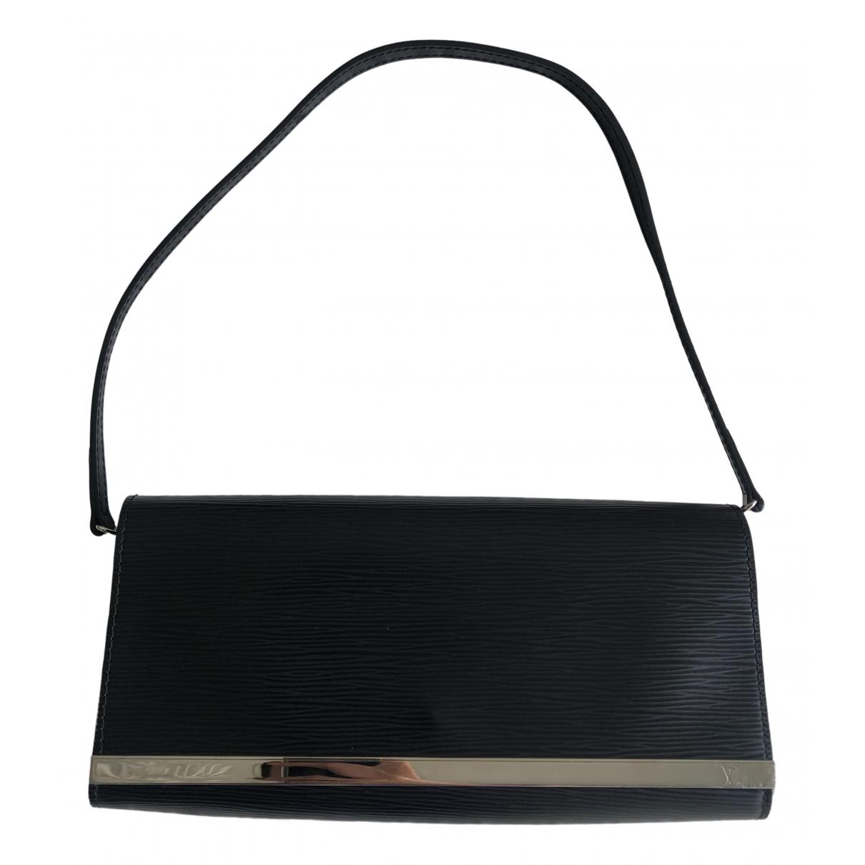 Louis Vuitton Sevigné Black Leather Clutch bag for Women \N