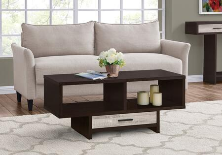 I 2811 Coffee Table - Espresso Taupe Reclaimed
