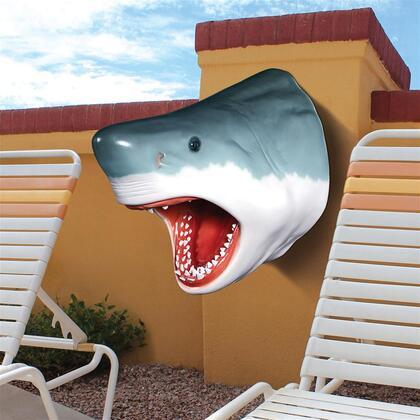 NE130046 Great White Shark Head Trophy In