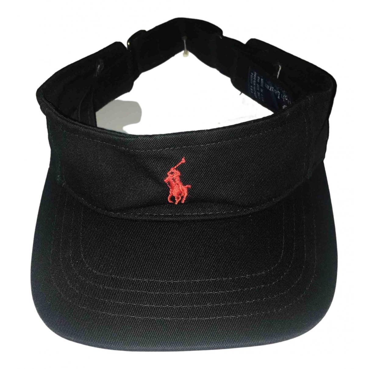 Polo Ralph Lauren \N Black Cotton hat & pull on hat for Men M International