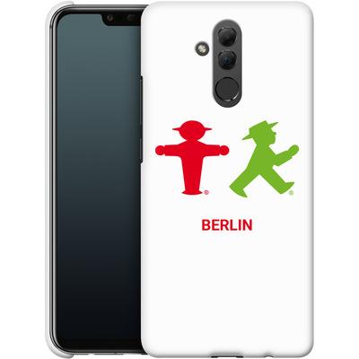 Huawei Mate 20 Lite Smartphone Huelle - Green and Red von AMPELMANN