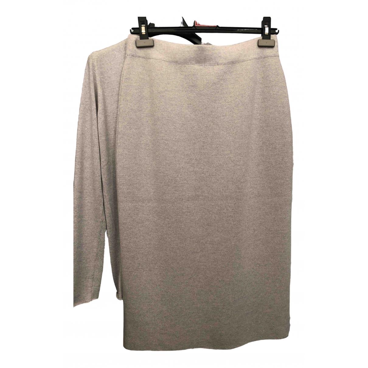 Fabiana Filippi - Jupe   pour femme en laine - gris