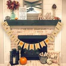 1pc Thanksgiving Decorative Pull Flag